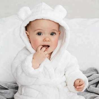 Baby White Bath Robes